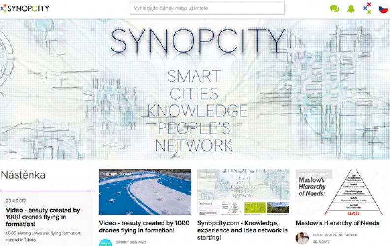 Synopcity.com - Knowledge, experience and idea network is starting!