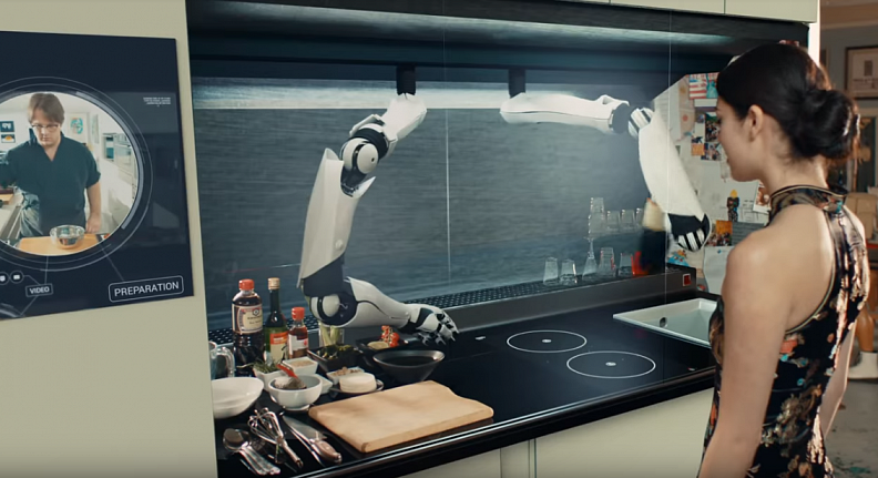 The world's Robotic Kitchen.